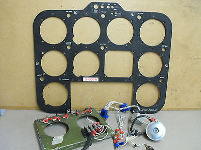 Robinson R22 instrument panel with bits and pieces