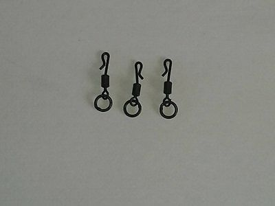 Size 11 quick change flexi swivel carp tackle fishing hair rigs ronnie rigs