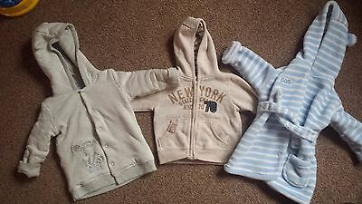 baby boy jacket/dressing gown