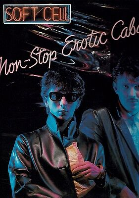 "Soft Cell - 'non-Stop Erotic Cabaret' - 12"" Vinyl Album - Some Bizzare"