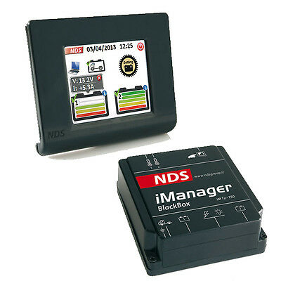 NDS iManager Battery Monitoring & Controller Camper Caravaning