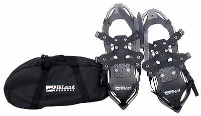 WillLand Outdoors Snowshoes BRAND NEW with bonus carrying case - Snow Shoes