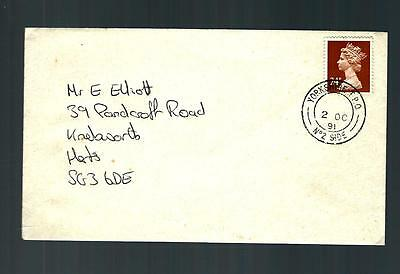 (2860) TPO cover traveling post office 1991 yorkshire down