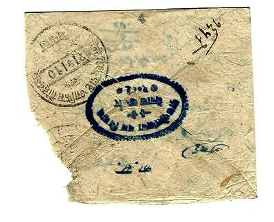 Very early Nepal cover multiple special cancels (13467