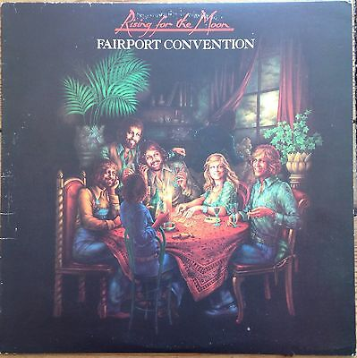 """Fairport Convention """"Rising for the Moon"""" Island ILPS 9313 Vinyl LP 1975"""