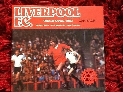 Liverpool Football Club 1980 Official Annual