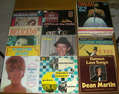 Lotto 35 LP in Vinile - Easy Listening / Vocal Jazz / Orchestre (anni 50-60-70)