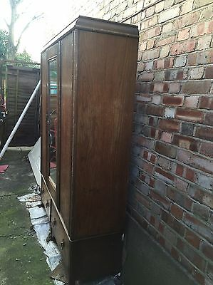 antique wardrobe Made Around 1929