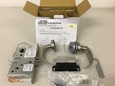 Sdc 27852 Mortise Lock, Excellent Condition