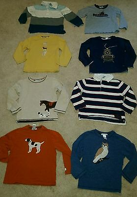 Janie and jack lot of winter shirts size 4