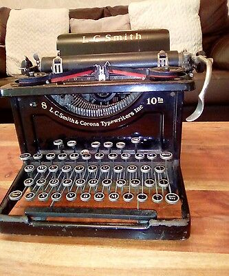 L.C.Smith & Corona 1920's typewriter