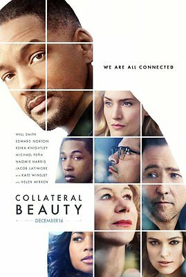 """Original movie """"Collateral Beauty"""" poster 27x40 DS"""