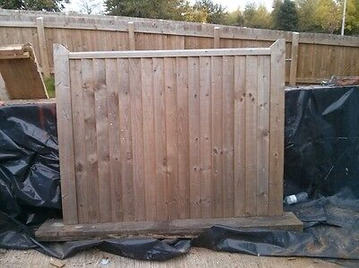 New wooden gate excellent quality