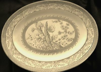 Large Victorian Serving Plate