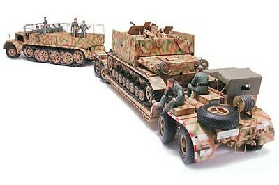 "TAMIYA - 1:35 Scale Plastic Model Kit - German ""FAMO"" & Tank Transport - #35246"