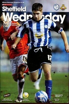 Sheffield Wednesday v Doncaster Rovers 16.02.10 Championship