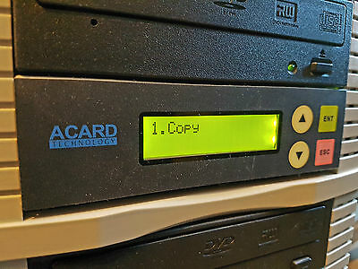 ACARD 2039A Pioneer 1-9/10 DVD CD Duplicator Copier with HDD Hard Drive