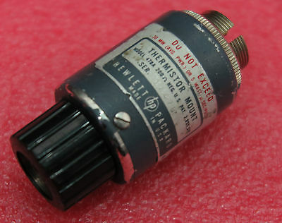 HP / Keysight 478A Coaxial Thermistor Mount 10MHz - 10 GHz Tested Good
