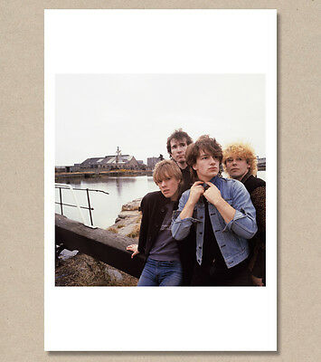 U2 - 'October' Outtake, 1981 - 2 - FINLAY - Giclée/Pigment photo print