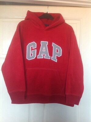 GAP red hoodie age 8-9 years