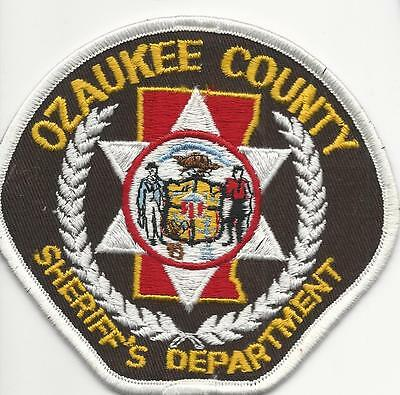 Ozaukee County Sheriff's Department Wi. Wisconsin