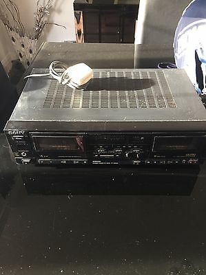 Sony Stereo DOUBLE Cassette Deck TC- WR610