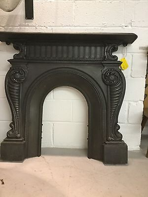 Victorian Coalbrook Cast Iron Fire Surround