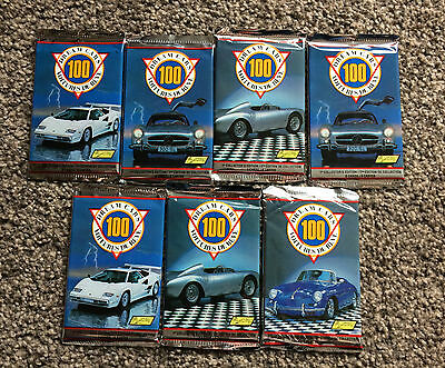 Dream Cars 100 collectable cards