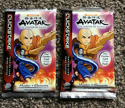 Avatar-The Legend Of Aang collectable trading cards by Quickstrike