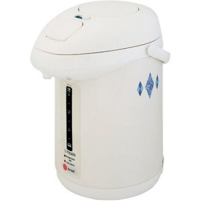 Tiger Heater Dispenser Water Electric 2.2 Liter Thermo Pot Outdoor White