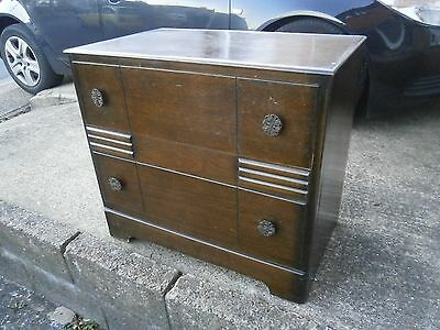 Vintage  / Antique  Chest Of Drawers Great Shabby Chic Project