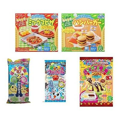 Kracie 5 pcs Making Poppin Cookin DIY Gummy Candy Bundle Set from Japan F/S