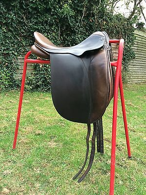 "17"" Medium Brown GFS Dressage Saddle"