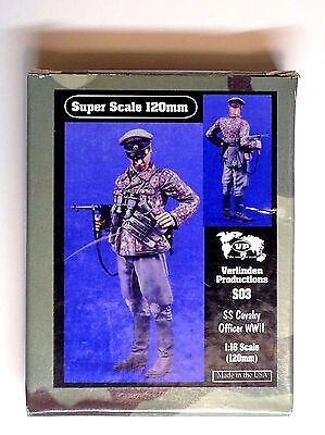 120Mm 1/16 Resin Figure By Verlinden S03 Ss Cavalry Officer. New.