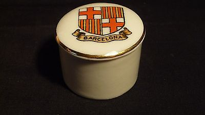Goss China Lipsalve Pot - Barcelona