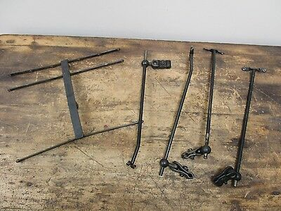 Antique Cast Iron Union Special Sewing Machine Thread Holder Attachments