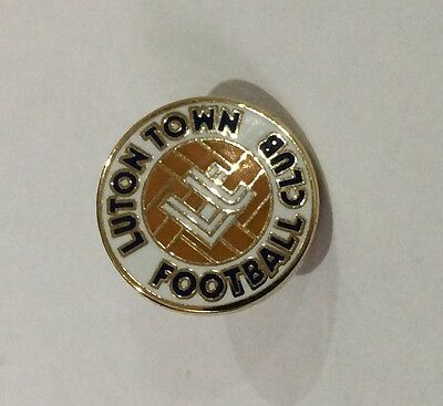 LUTON TOWN Badge Football Club FC Small (15 mms) Enamel Supporters Pin. 2 of 4