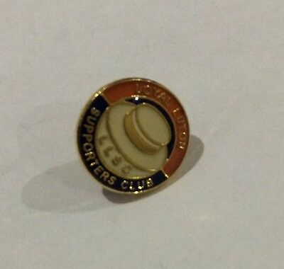 LUTON TOWN Badge Football Club FC Very Small Enamel Supporters Club Pin 12mms. 1