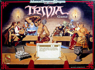 Advanced Dungeons & Dragons Trivia Game (Shrink wrapped)