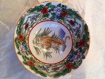 Chinese Zodiac Bowl Set Of Four Dishes