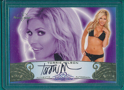 2010 Benchwarmer Signature Series TORRIE WILSON Autograph Card