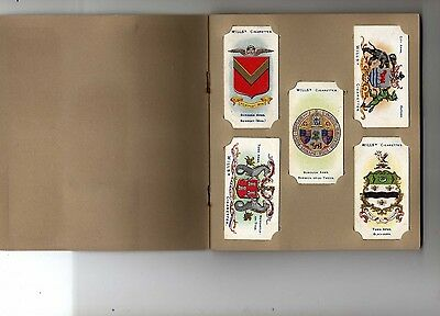 Borough Arms 1906 2nd edition  Wills cigarette cards