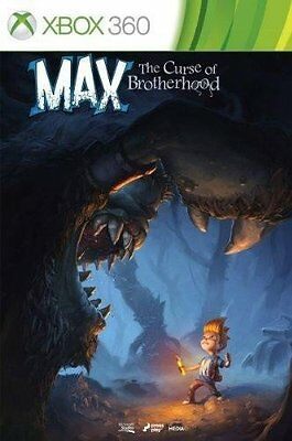 Max: The Curse of Brotherhood | XBOX 360 Download Key Code | Region-free