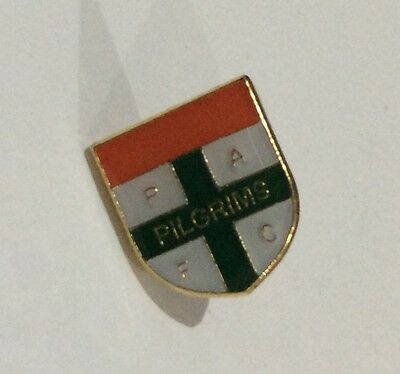 PLYMOUTH ARGYLE Football Club Badge FC ENAMEL VERY SMALL PAFC PIN 2 XMAS PRESENT