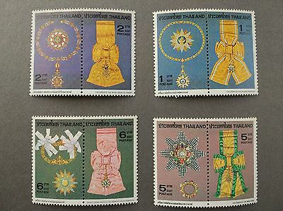Thailand Stamps 1979 Mnh  Royal Decorations