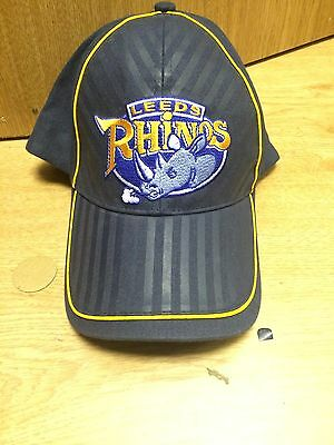 leeds rhinos rugby league Adjustable  Baseball Cap ISC