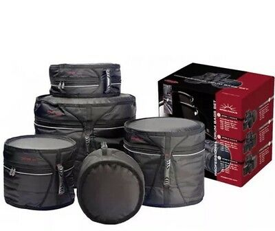 --NEW--REDUCED--Stagg SPBS 3 Deluxe 5 Piece Drum Kit Bag Set-- FREE P&P UK