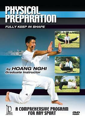 physical preparation training DVD  martial art fitness Hoang Nghi DVD97
