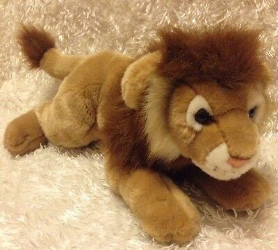 """Animal Alley Plush Lion 20"""" Large TOYS R US Stuffed Animal Excellent Condition"""