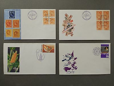 Thailand Stamps  4 Fdc 1971